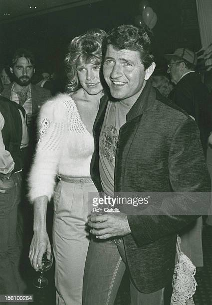 Musician Mac Davis and wife Lisa Gerard attend the wrap party for 'The Next Sting' on January 29 1982 at Universal Studios in Universal City...