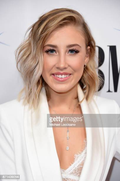 Musician Madison Marlow of Maddie and Tae attends the 65th Annual BMI Country awards on November 7 2017 in Nashville Tennessee