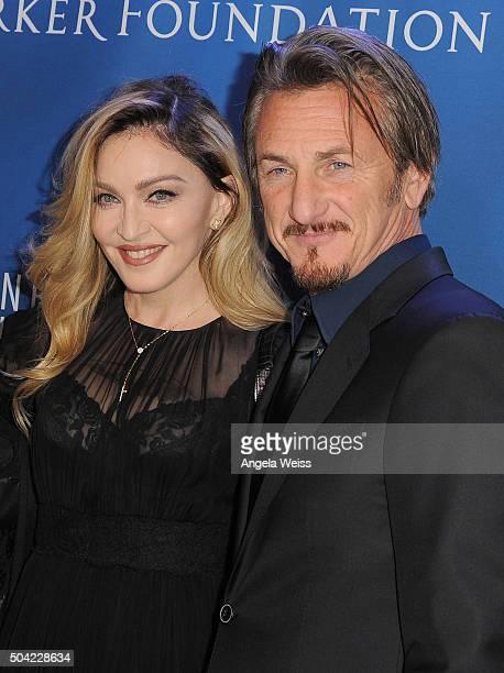 Musician Madonna and actor Sean Penn attend the 5th Annual Sean Penn Friends HELP HAITI HOME Gala benefiting J/P Haitian Relief Organization at...