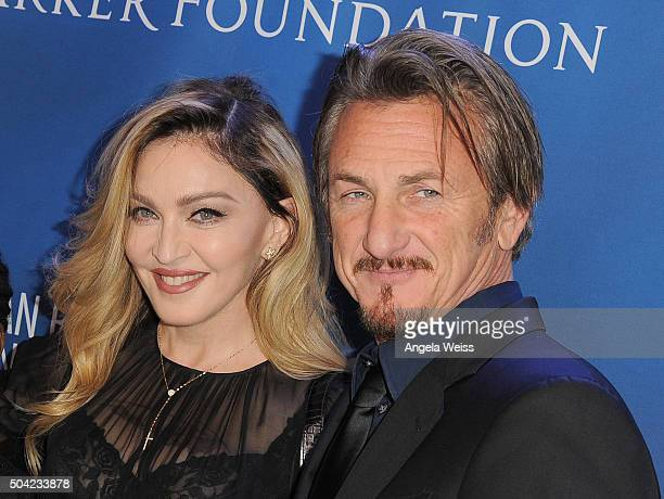 Musician Madonna and actor Sean Penn attend the 5th Annual Sean Penn Friends HELP HAITI HOME Gala benefiting J/P Haitian Relief Organization at...