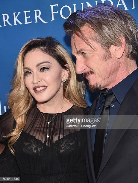 Musician Madonna and host Sean Penn attend the 5th Annual Sean Penn Friends HELP HAITI HOME Gala Benefiting J/P Haitian Relief Organization at...