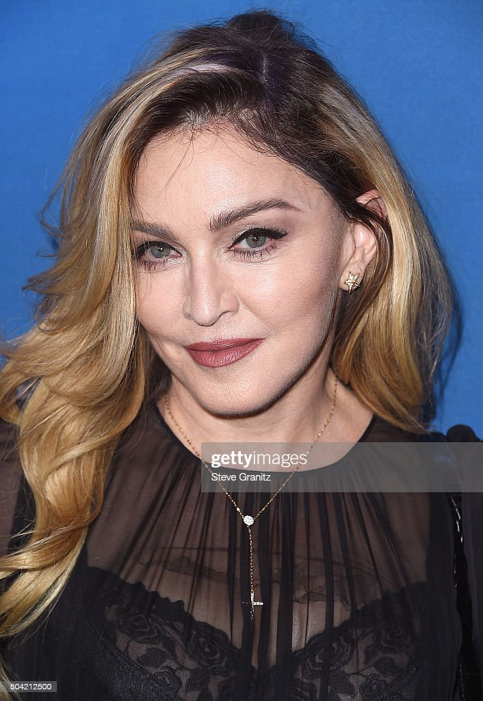 Musician Madonna attends the 5th Annual Sean Penn & Friends HELP HAITI HOME Gala Benefiting J/P Haitian Relief Organization at Montage Hotel on January 9, 2016 in Beverly Hills, California.