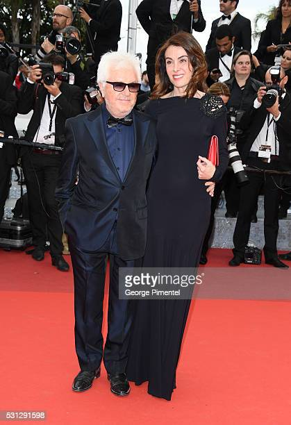 Musician Marc Cerrone and his wife Jill attend the screening of Slack Bay at the annual 69th Cannes Film Festival at Palais des Festivals on May 13...