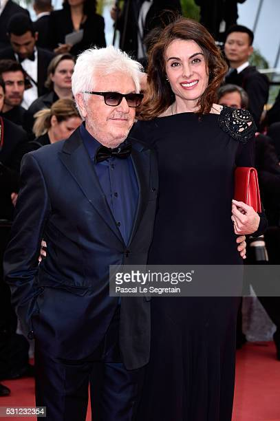 Musician Marc Cerrone and his wife Jill attend the Slack Bay premiere during the 69th annual Cannes Film Festival at the Palais des Festivals on May...