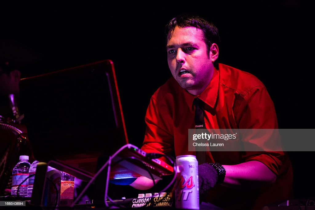 Musician Marcelo Tijerina aka Mexican Dubwiser performs at Viper Room on May 10, 2013 in West Hollywood, California.