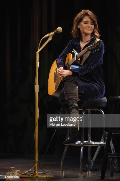 Musician Maren Morris performs onstage at the Country Music Hall of Fame and Museum's 'All for the Hall' Benefit on February 13 2018 in New York City