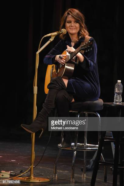 Musician Maren Morris performs onstage at the Country Music Hall of Fame and Museum's 'All for the Hall' Benefit on February 12 2018 in New York City