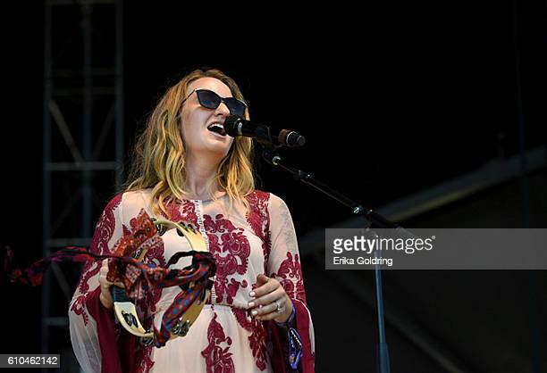 Musician Margo Price performs onstage at the Pilgrimage Music Cultural Festival Day 2 on September 25 2016 in Franklin Tennessee