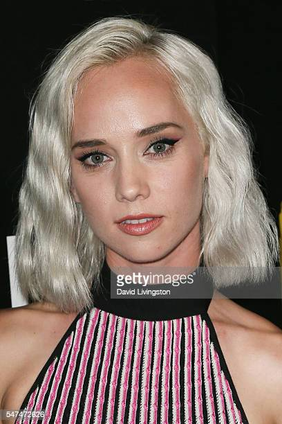 Musician Margot arrives at the Launch of OUE Skyspace LA at the US Bank Tower on July 14 2016 in Los Angeles California