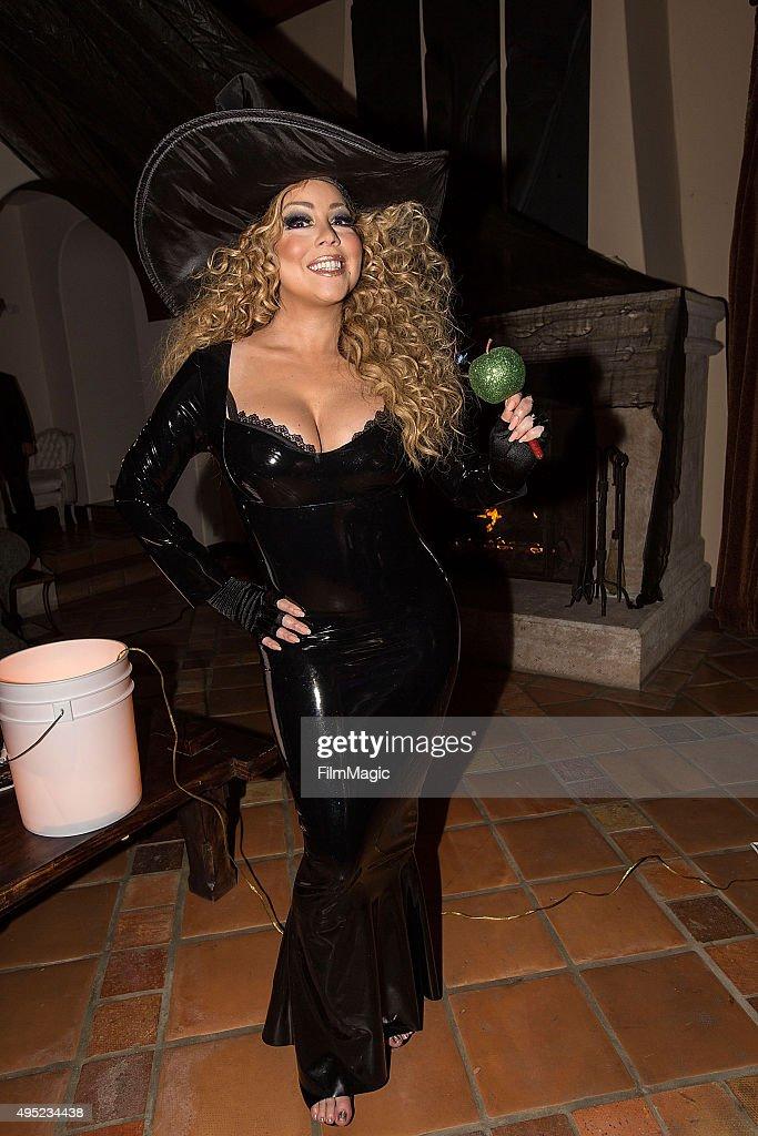 Musician Mariah Carey appears at Mariah Carey's Festive