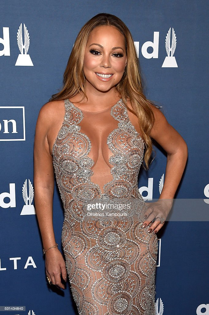 Musician Mariah Carey attends the 27th Annual GLAAD Media Awards in New York on May 14, 2016 in New York City.