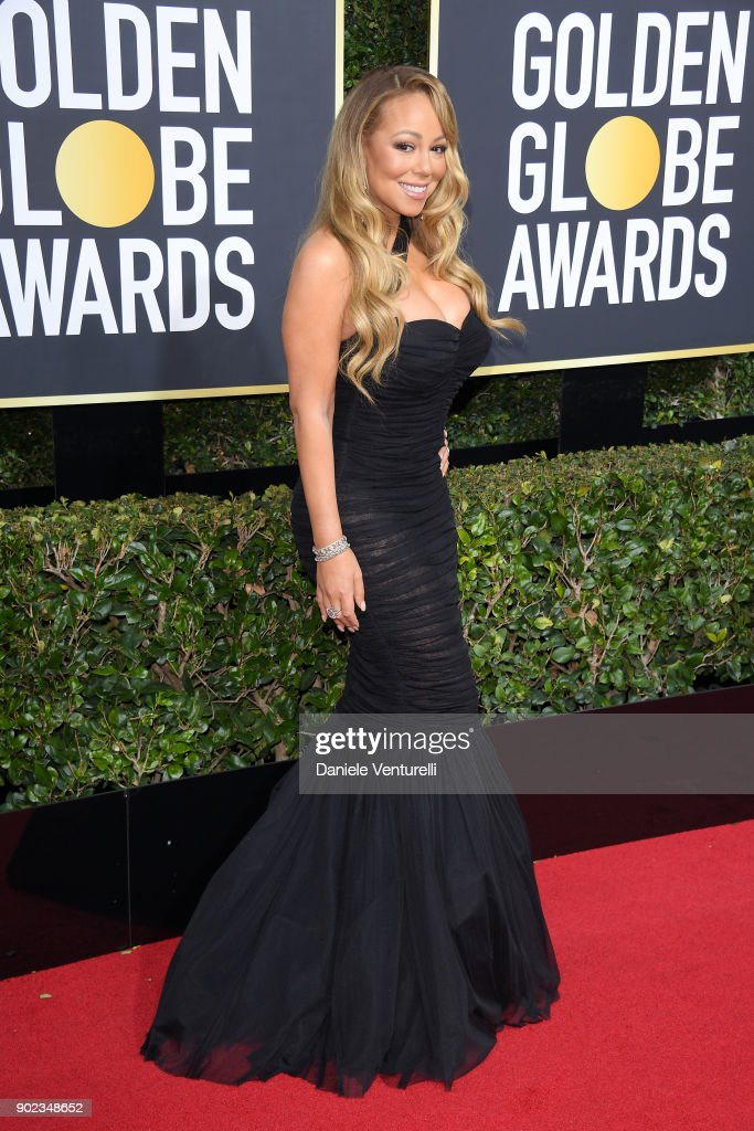 Musician Mariah Carey attends The 75th Annual Golden Globe Awards at The Beverly Hilton Hotel on January 7, 2018 in Beverly Hills, California.