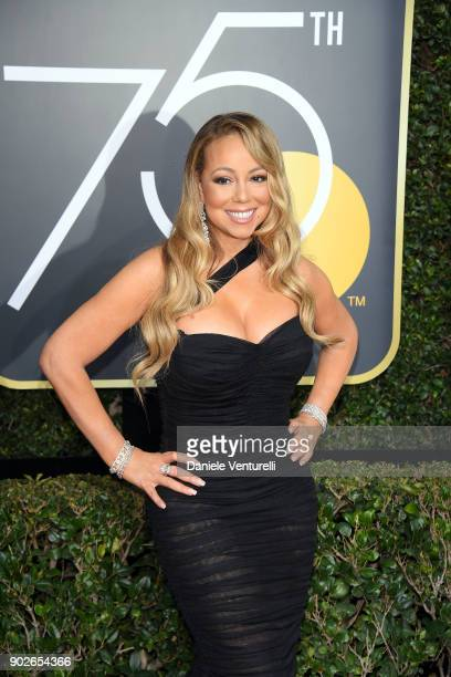 Musician Mariah Carey attends The 75th Annual Golden Globe Awards at The Beverly Hilton Hotel on January 7 2018 in Beverly Hills California