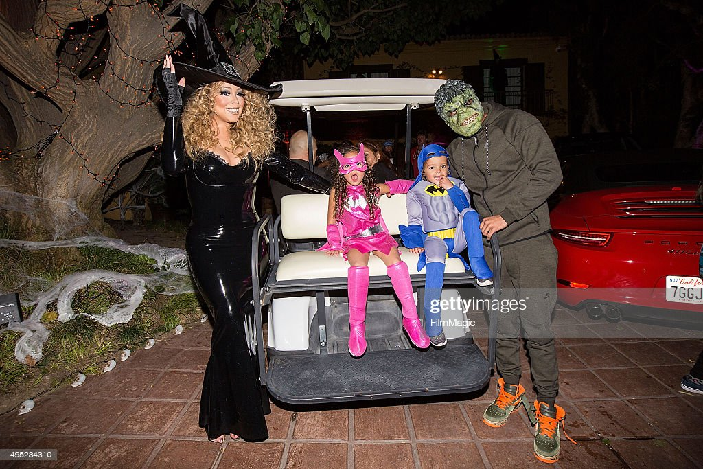 Mariah Carey's Festive Halloween Party at her Airbnb Estate : News Photo