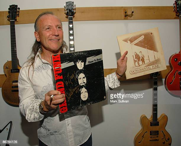 Musician Mark Farner of Grand Funk Railroad attends the Rock 'n' Roll Fantasy Camp Gala Kickoff and All-Star Jam at the Gibson Showroom on April 29,...