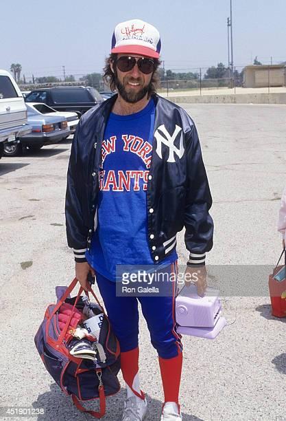 Musician Mark Hudson attends the Hollywood AllStars vs 'The Bold the Beautiful' Celebrity Softball Game on June 13 1987 at Pepperdine University in...