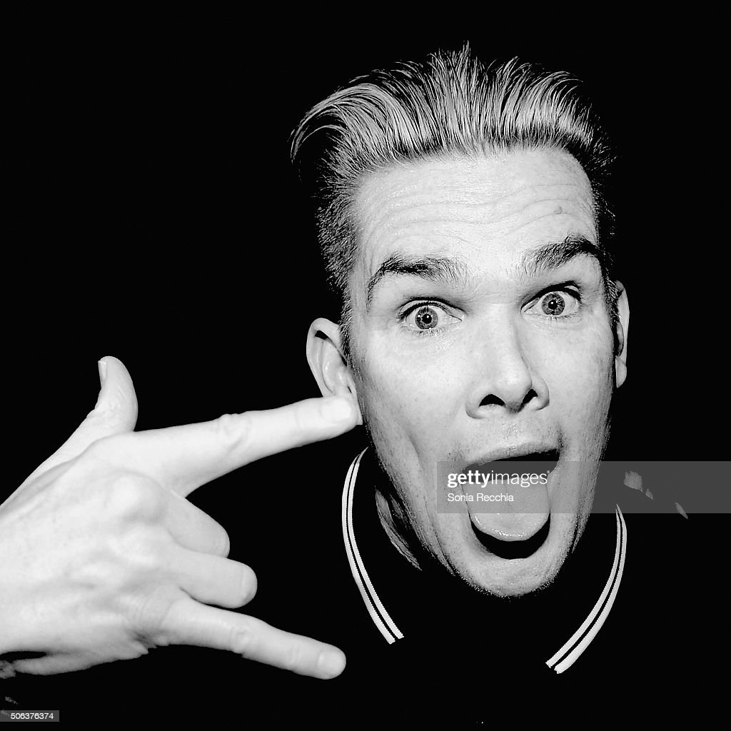 Musician Mark McGrath poses backstage at the Donovan Leitch Performance at Sundance at Cisero's Bar on January 22, 2016 in Park City, Utah.