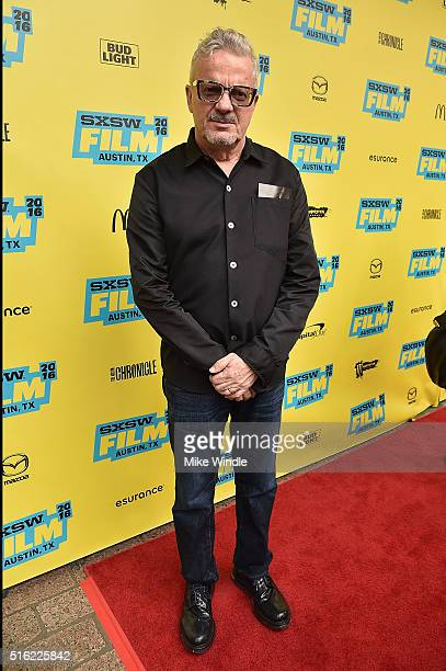Musician Mark Mothersbaugh attends the premiere of 'Peewee's Big Holiday' during the 2016 SXSW Music Film Interactive Festival at Paramount Theatre...