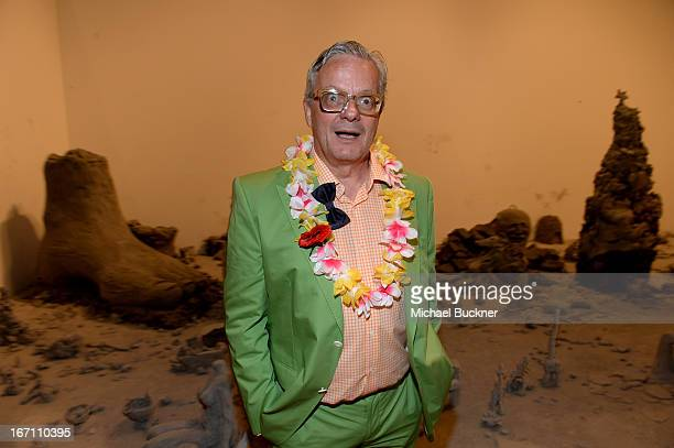 "Musician Mark Mothersbaugh attends ""Yesssss"" MOCA Gala 2013 Celebrating the Opening of the Exhibition Urs Fischer at MOCA Grand Avenue and The Geffen..."