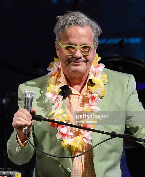 "Musician Mark Mothersbaugh performs at ""Yesssss"" MOCA Gala 2013 Celebrating the Opening of the Exhibition Urs Fischer at MOCA Grand Avenue and The..."