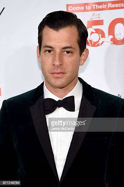 Musician Mark Ronson attends ASPCA 19th Annual Bergh Ball honoring Drew Barrymore hosted by Nathan Lane wiith music by Mark Ronson at the Plaza Hotel...