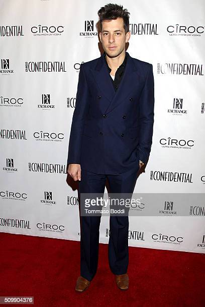 Musician Mark Ronson attends the Los Angeles Confidential Magazine celebrates the Grammys with Cover Star Mark Ronson at Exchange LA Powered By CIROC...