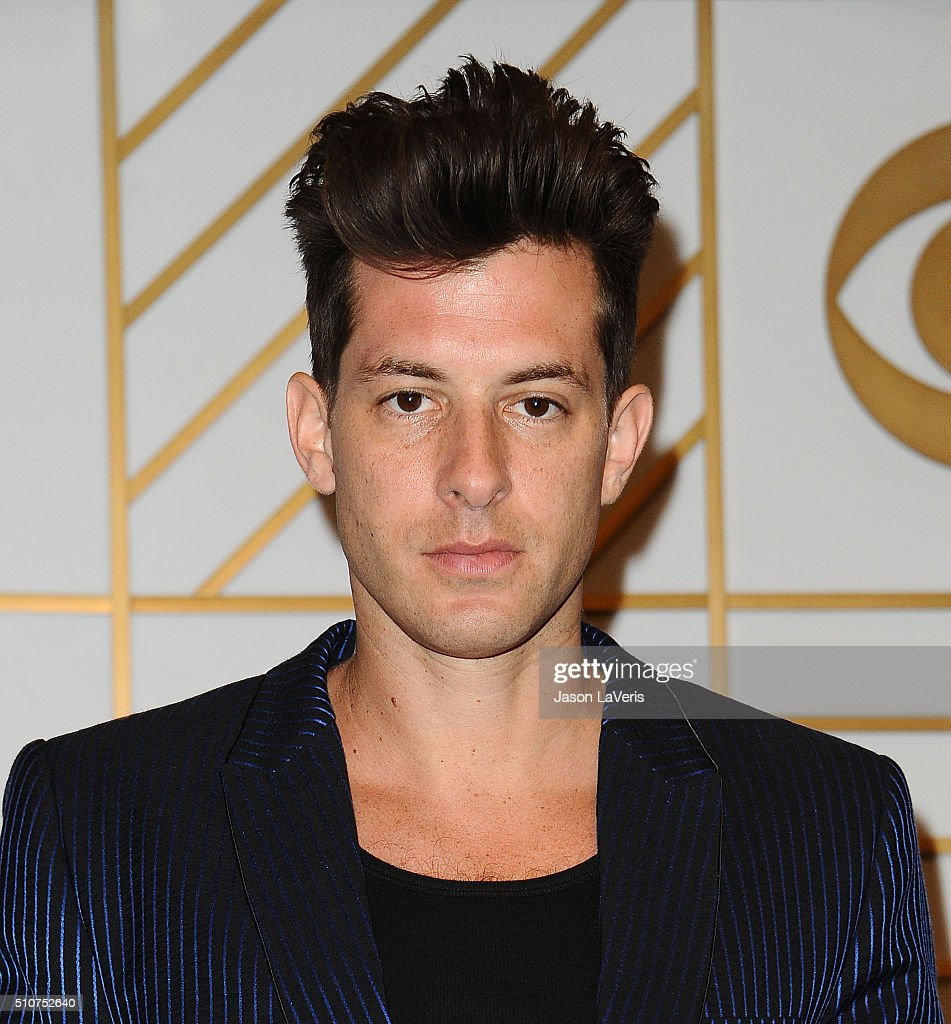 Musician Mark Ronson poses in the press room at the The 58th GRAMMY Awards at Staples Center on February 15, 2016 in Los Angeles, California.