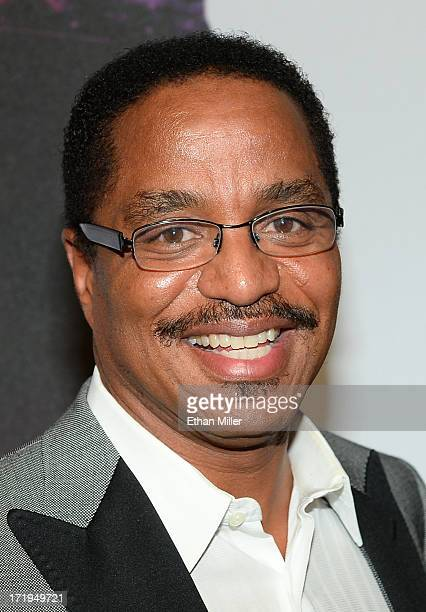 Musician Marlon Jackson arrives at the world premiere of 'Michael Jackson ONE by Cirque du Soleil' at THEhotel at Mandalay Bay on June 29 2013 in Las...