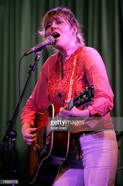 Musician Martha Wainwright performs onstage at the ASCAP Tribeca Music Lounge held at the Canal Room during the 2007 Tribeca Film Festival on May 2...