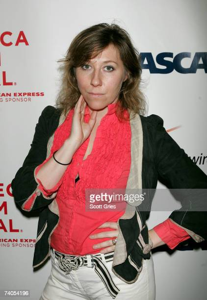 Musician Martha Wainwright poses at the ASCAP Tribeca Music Lounge held at the Canal Room during the 2007 Tribeca Film Festival on May 2 2007 in New...