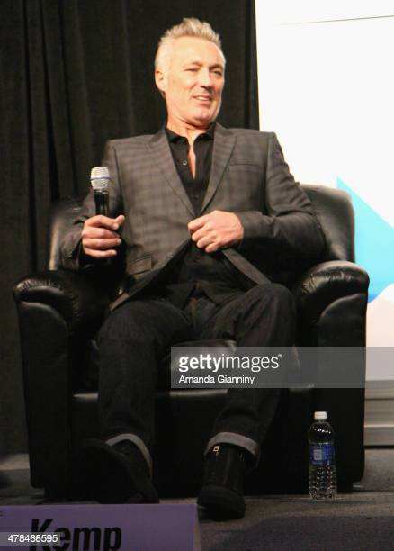 Musician Martin Kemp of Spandau Ballet speaks onstage at SXSW Interview Spandau Ballet during the 2014 SXSW Music Film Interactive at Austin...
