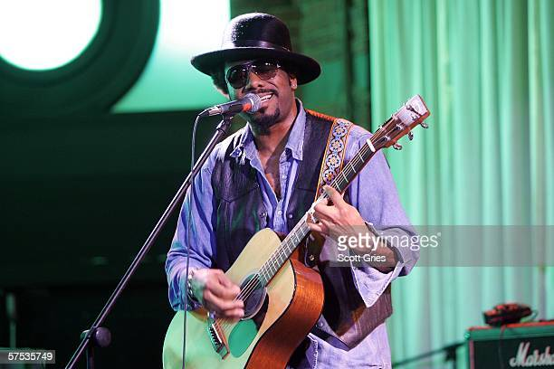 Musician Martin Luther performs at the Tribeca/ASCAP Music Lounge at the Canal Room May 4 2006 in New York City