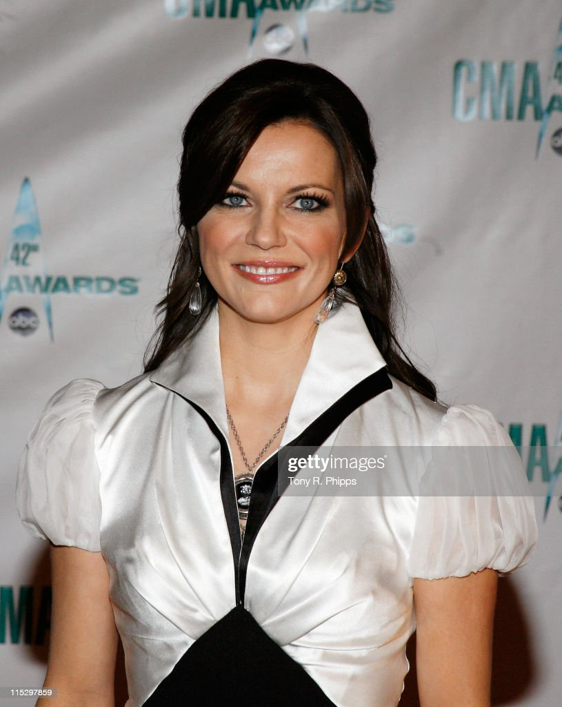 Musician Martina McBride attends the 42nd Annual CMA Awards at the Sommet Center on November 12, 2008 in Nashville, Tennessee.
