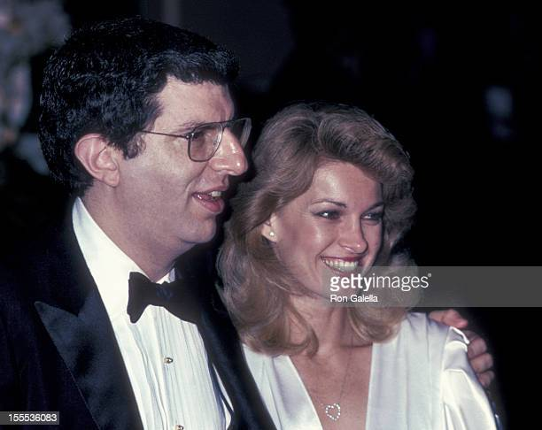 Musician Marvin Hamlisch and Cyndy Garvey attend 55th Annual Academy Awards Governor's Ball on April 11 1983 at the Beverly Hilton Hotel in Beverly...