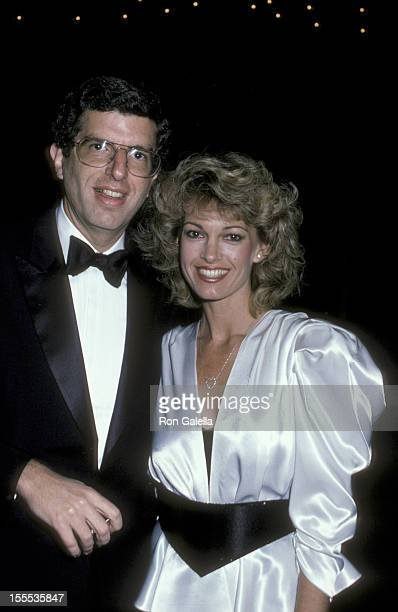 Musician Marvin Hamlisch and Cyndy Garvey attend Gala Celebrating 100 Years of Performing Arts on May 13 1984 at the Metropolitan Opera House in New...