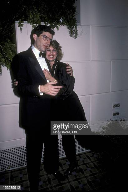 Musician Marvin Hamlisch and Cyndy Garvey attend the benefit for Lennox Hill Hospital on November 12 1984 at the Waldorf Hotel in New York City