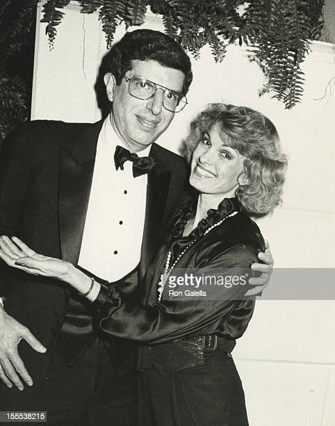 Musician Marvin Hamlisch and Cyndy Garvey attend the benefit for Lenox Hill Hospital on November 12 1984 at the Waldorf Hotel in New York City