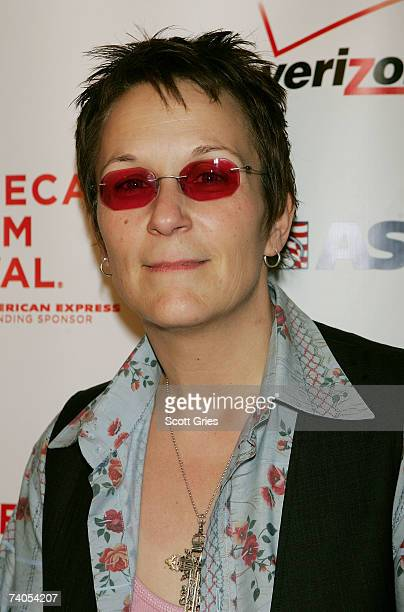 Musician Mary Gauthier poses at the ASCAP Tribeca Music Lounge held at the Canal Room during the 2007 Tribeca Film Festival on May 2 2007 in New York...