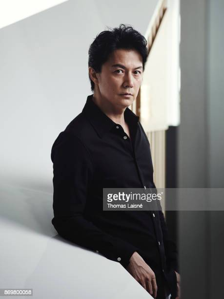 Musician Masaharu Fukuyama is photographed for Self Assignment on September 8 2017 in Venice Italy