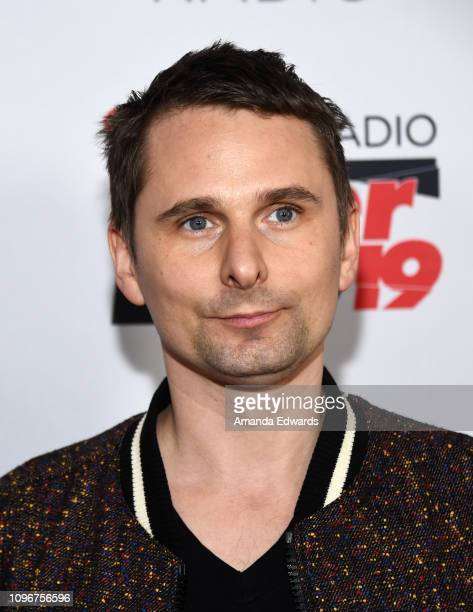 Musician Matt Bellamy of Muse arrives at the 2019 iHeartRadio ALTer Ego concert at The Forum on January 19, 2019 in Inglewood, California.