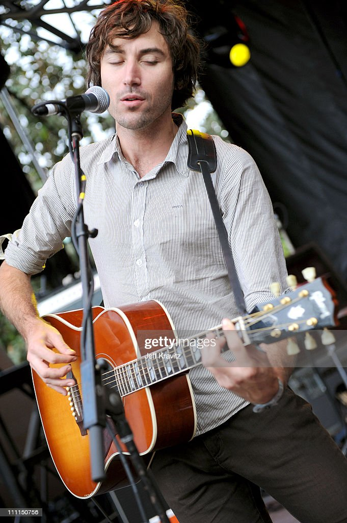 Musician Matt Costa performs at the 2008 Detour Festival on October 4, 2008 in Los Angeles, California.
