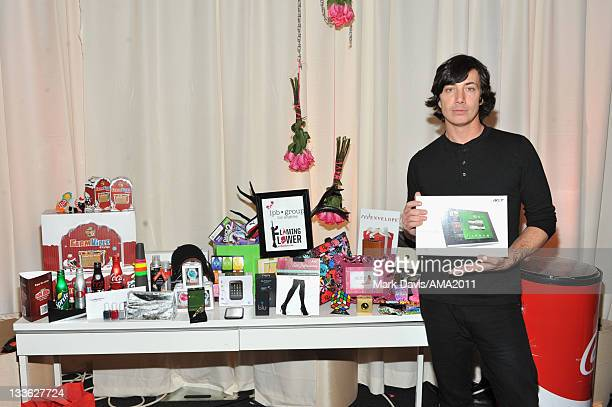 Musician Matt Flynn of the band Maroon 5 attends the 2011 American Music Awards Gifting Lounge held at Nokia at LA LIVE on November 20 2011 in Los...