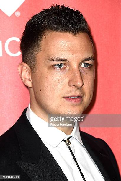 LOS Musician Matt Helders attends the 25th anniversary MusiCares 2015 Person Of The Year Gala honoring Bob Dylan at the Los Angeles Convention Center...