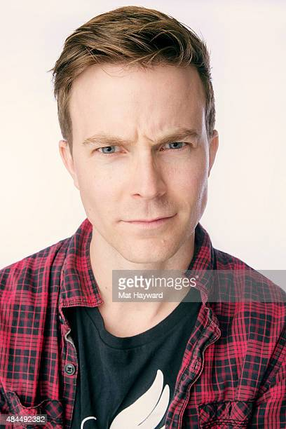 Musician Matt Johnson of Matt and Kim poses for a portrait during Summer Camp hosted by 1077 The End at Marymoor Park on August 15 2015 in Redmond...