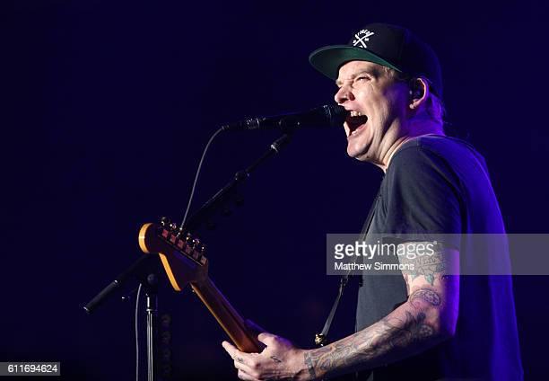 Musician Matt Skiba of Blink182 performs onstage at The Forum on September 30 2016 in Inglewood California