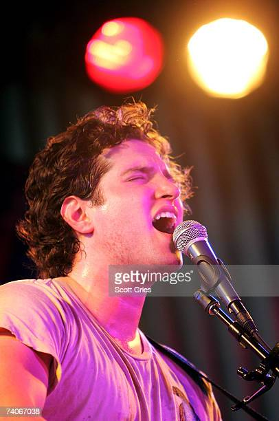 Musician Matt White performs onstage at the ASCAP Tribeca Music Lounge held at the Canal Room during the 2007 Tribeca Film Festival on May 3 2007 in...
