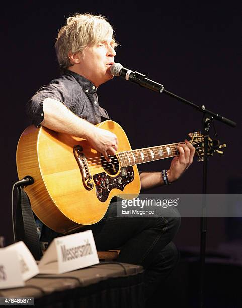 Musician Matthew Caws performs onstage at Warehouse Songs and Stories during the 2014 SXSW Music Film Interactive at Austin Convention Center on...