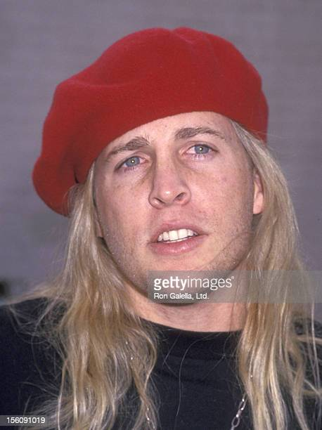 Musician Matthew Nelson attends the Love Ride 10 10th Annual Motocycle Rider's Fundraiser for the Muscular Dystrophy Association on November 7 1993...