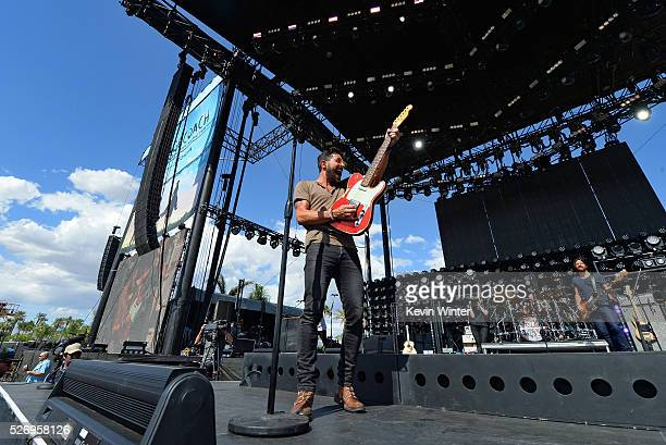 Musician Matthew Ramsey of Old Dominion performs onstage during 2016 Stagecoach California's Country Music Festival at Empire Polo Club on May 01...