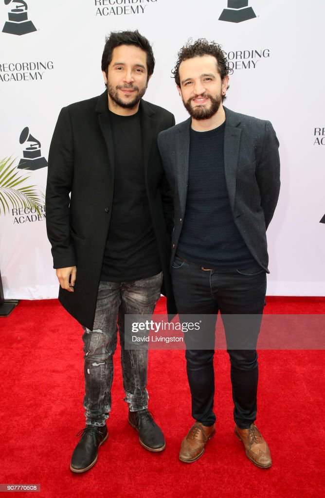 60th GRAMMY Awards - GRAMMY Nominee Reception - Arrivals